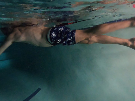 Tethered Swimming In A Small Pool