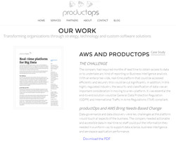 ProductOps/AWS Case Study