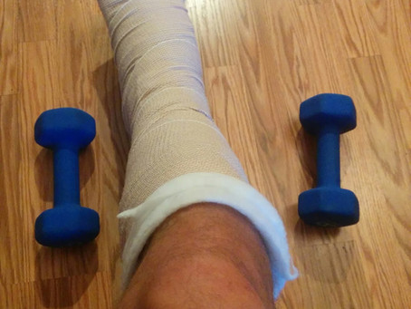 Exercises In A Lower Limb Splint