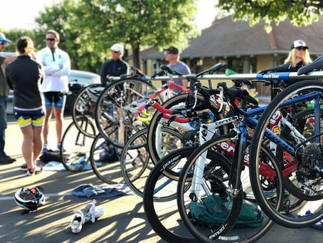 Triathlon Transitions: Less is More