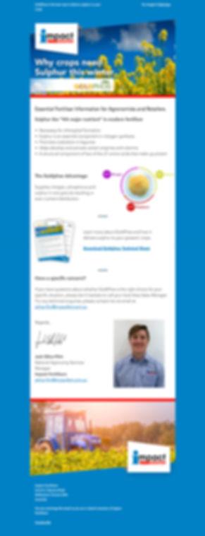 Impact Fertilisers Email Marketing