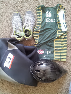 Sprint/Olympic Triathlon Race Equipment Checklist - A Minimalist Approach