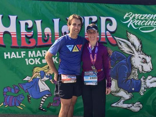 Hellyer Half Marathon Race Report