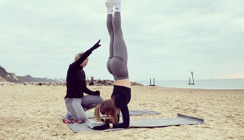 Beach Yoga Skills