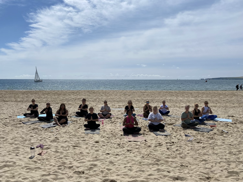Sandbanks Beach Yoga