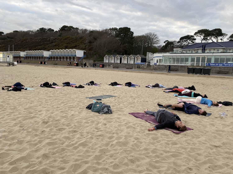 Beach Yoga Flow