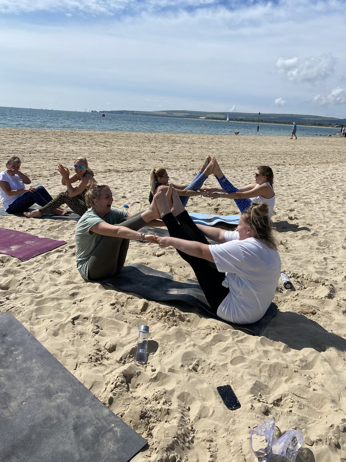 Sandy Toes Yoga Events