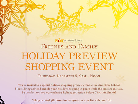 Family and Friends Holiday Preview Flyer Download