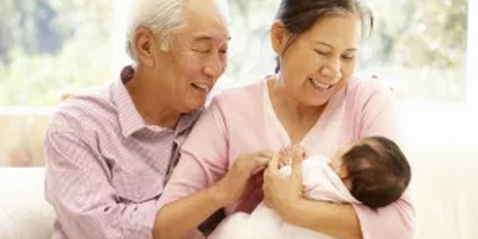 Grandparents and Family workshop April