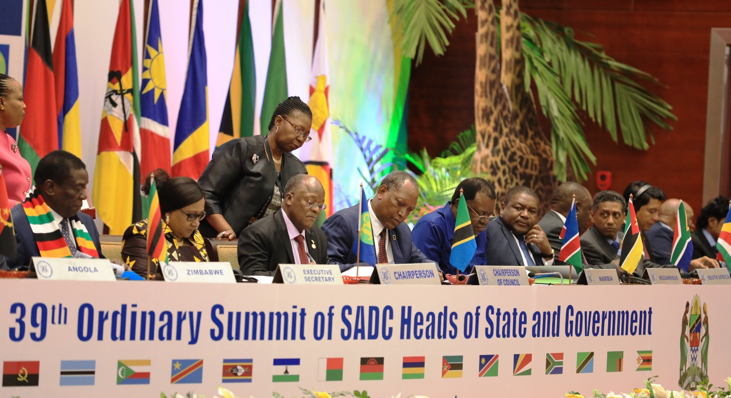 39th Ordinary Summit of SADC Heads of State & Government
