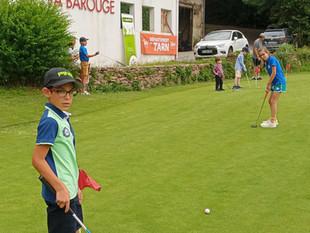 19 juin 2021 - Le golf de Mazamet Labarouge accueillait le championnat du Tarn Jeunes U16 & U10