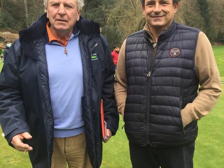 Après Castres, le bureau du CD rencontre la nouvelle équipe du golf de Mazamet La Barouge