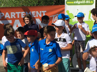 09 juin 2021 - Challenge départemental U14 - Golf d'Aigielèze