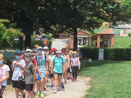 14 et 15 juin 2021 - 68 élèves de CE2-CM1-CM2 au golf de Mazamet La Barouge
