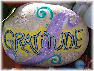 Gratitude...and a little bit of grumpiness