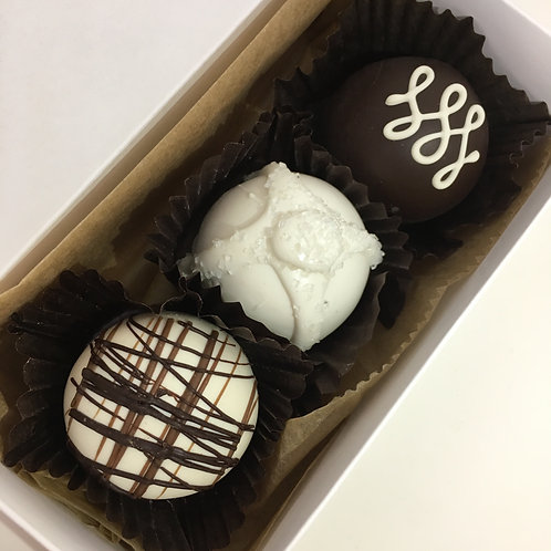 Truffles - Box of 3 - Your Choice