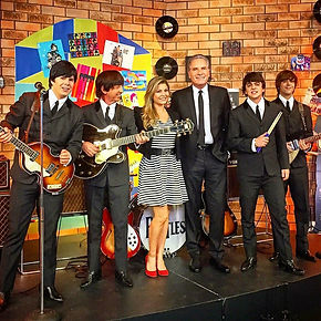Beatles Cover no Roberto Justus, Tv Reco