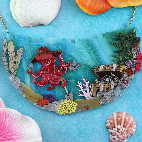Octopus Gardening Necklace
