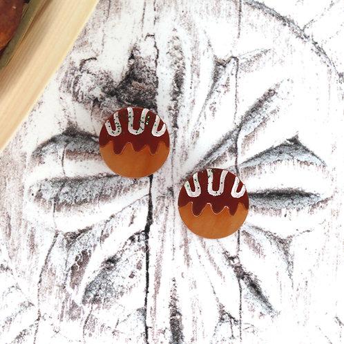 Takoyaki Earrings