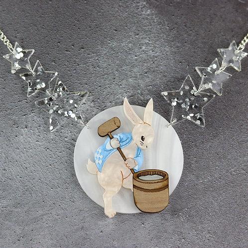 Tsuki no Usagi (Moon Rabbit) Necklace