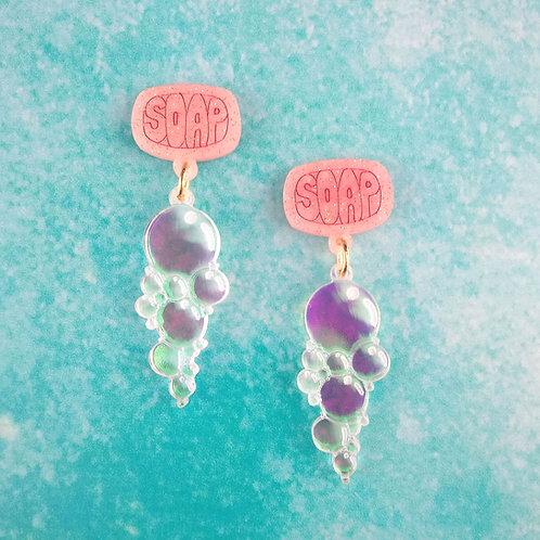 Soap Earrings