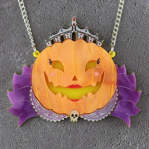 Pumpkin Queen Statement Necklace