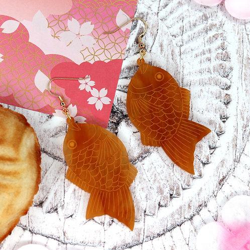 Taiyaki Earrings