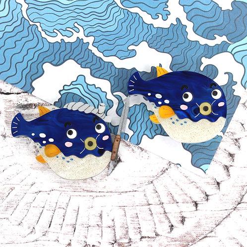 Fugu Brooch