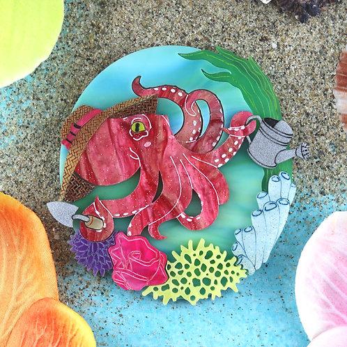 Octopus Gardening Brooch Pre-order