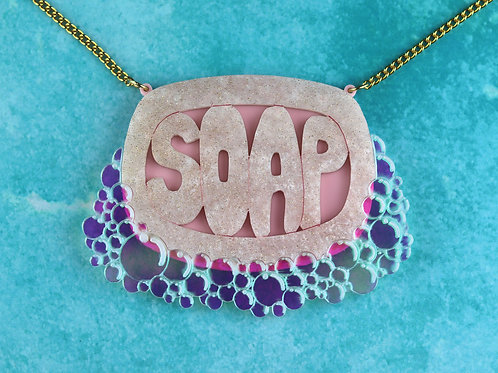 Soap Bar Statement Necklace
