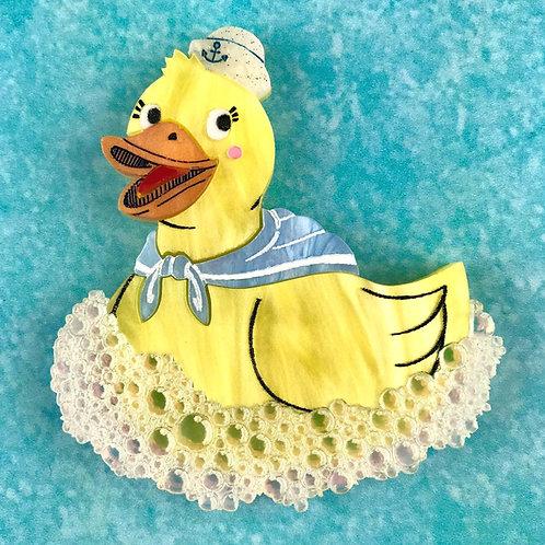 Rubber Ducky Brooch