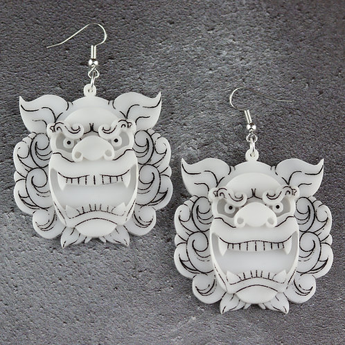 Komainu Earrings