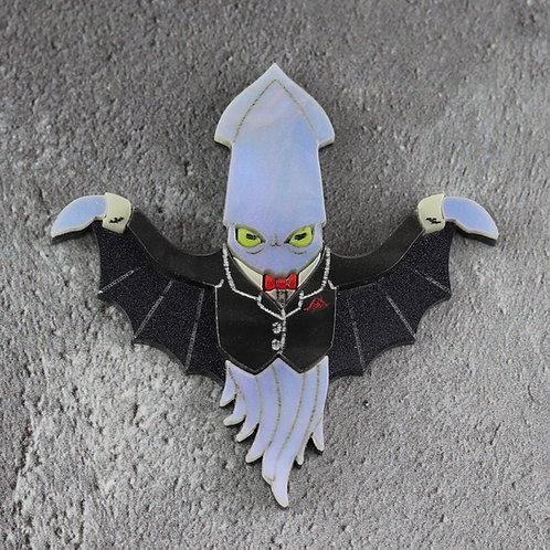 Vampire Squid Brooch