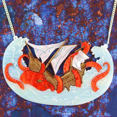 Kraken Statement Necklace