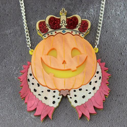 Pumpkin King Statement Necklace