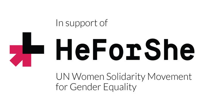 In Support of HeForShe - Logo
