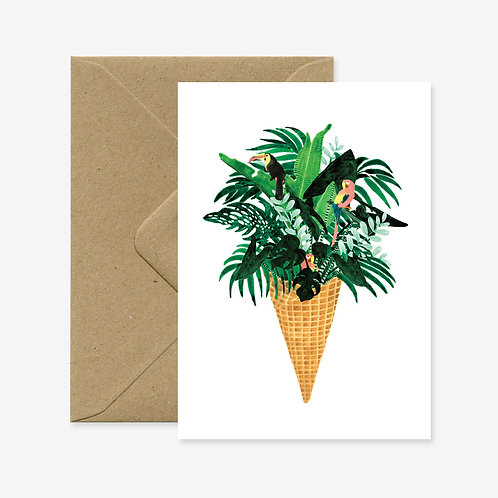 Carte postale ice cream jungle - All The Ways To Say