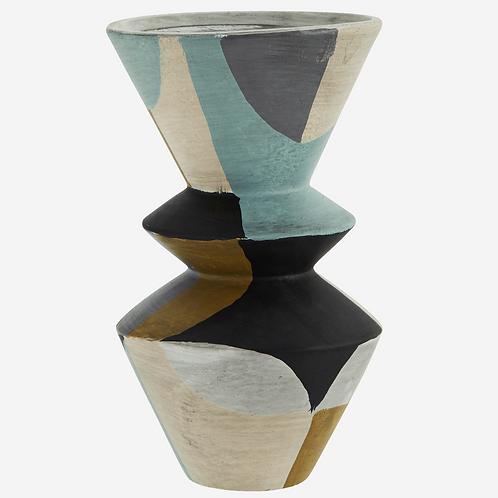 Vase terracotta multicolore - Madam Stoltz