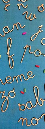 Envi d'un alphabet #montessori pour vos