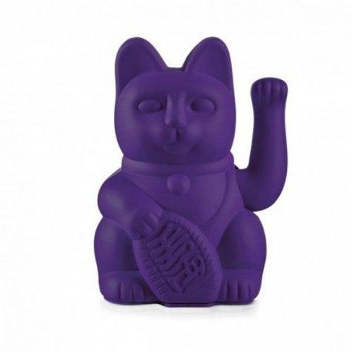 Lucky cat - Chat porte bonheur Maneki neko violet - Donkey