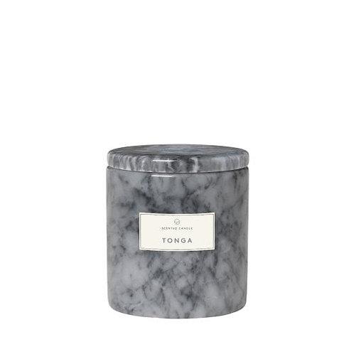 Bougie parfumée marbre TONGA - Blomus