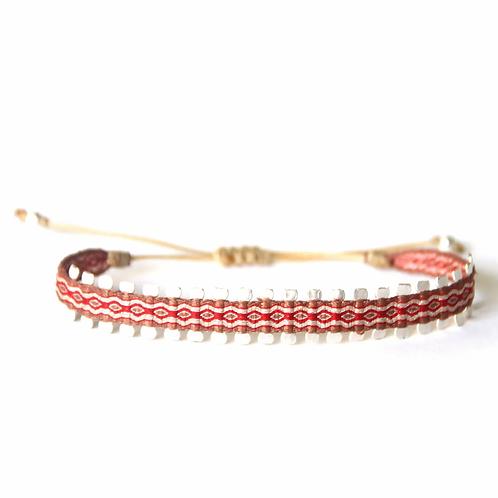 Bracelet le chemin rouge - Mazonia
