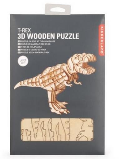Puzzle 3D en bois - Kikkerland