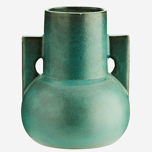 Vase terracotta vert - Madam Stoltz