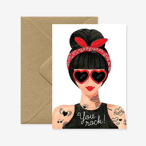 Carte postale hipster girl - All The Ways To Say
