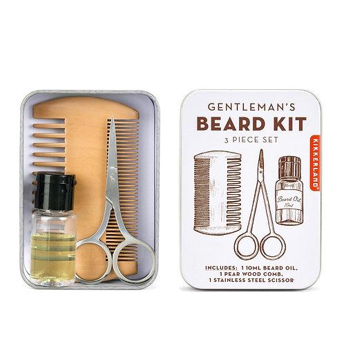 Kit à barbe - Kikkerland