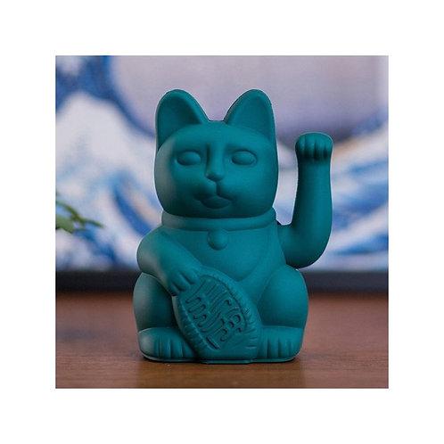 Lucky cat - Chat porte bonheur Maneki neko vert