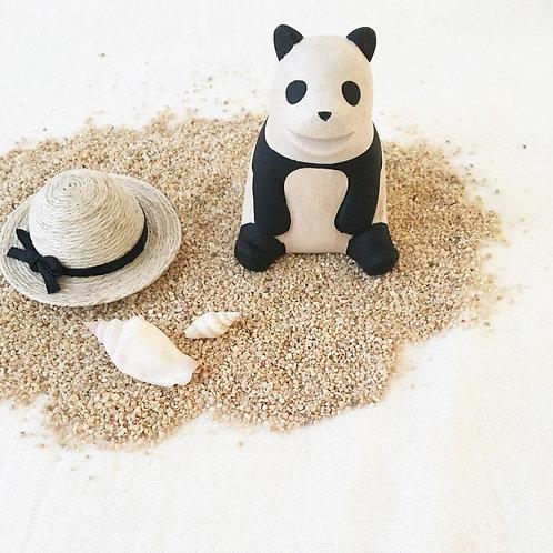 Pole Pole panda en bois - T Lab