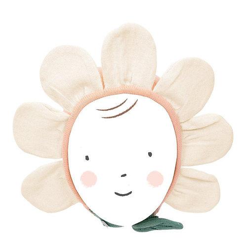 Bonnet bébé peach daisy - Meri Meri