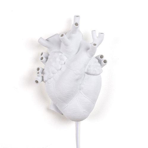 Applique / Lampe coeur en porcelaine - Seletti